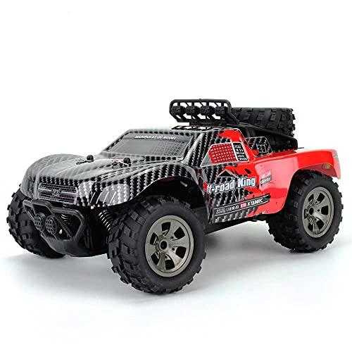 Camioneta Pickup de Estilo Americano a Escala 1:12, Juguete eléctrico Todoterreno de 2,4 GHz RC Monster Crawler Vehicle, 4WD, Coche de Carreras de Alta Velocidad de Escalada de Potencia Fuerte