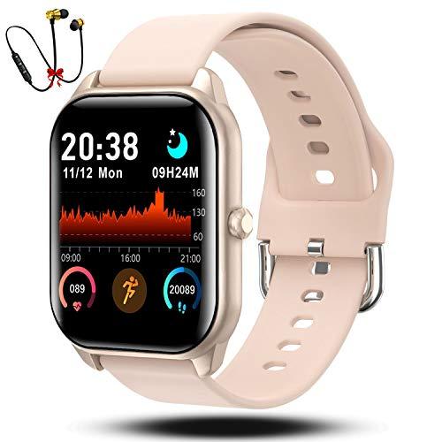 Smartwatch Reloj Inteligente Hombre Mujer Niños Monitor Pulso Cardiaco Pulsera Actividad Reloj Inteligente Cardio Podómetro...