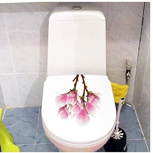 Muursticker 3 stuks diy muursticker magnolia bloem verse plant kinderkamer afneembaar bad wc sticker wohnkultur 21x2cm