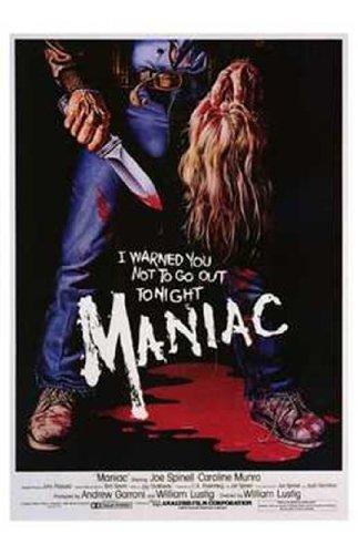Maniac Movie Poster (27,94 x 43,18 cm)