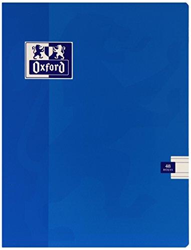 Oxford 736637 - Libreta A5, 48 hojas, pauta 3.5 mm, multicolor