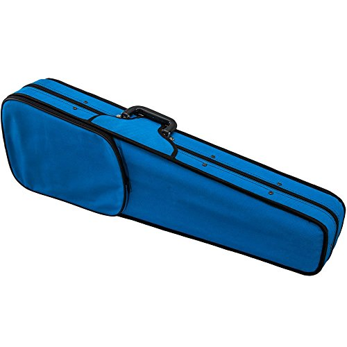 SKY Violin Triangle Case Lightweight Full Size Sky Blue Color