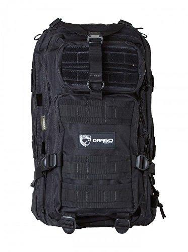 Drago Gear DRA14301BL Tracker Backpack Black