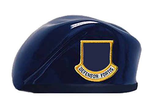Uniform Accessories Unlimited Inc Air Force Blue Ceramic Beret (Officer)