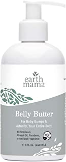 Belly Butter by Earth Mama | Contains Organic Herbs and Oils to Help Ease Skin and Stretch Marks During Pregnancy, No Arti...