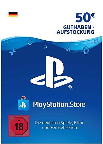 PSN Guthaben-Aufstockung| 50 EUR | deutsches Konto | PS5/PS4/PS3 Download Code