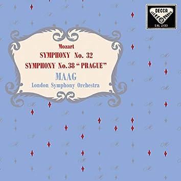 Mozart: Symphonies Nos. 32, 38; Clarinet Concerto