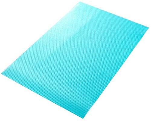 Aiyow Koelkast Pad Antibacterieel Antifouling Antislip Koelkast Mat Koelkast Basis Kussen DIY Kast Mat Schoen Mat Tafel Mat Lade Mat.Transparant blauw / 4 stuks
