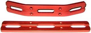 RC Raven T-Maxx and E-Maxx Red Anodized Aluminum Bumper Set
