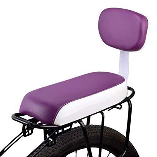 DGHJK Asiento Trasero para Bicicleta con Respaldo Cojín para Asiento de Bicicleta para portabebés
