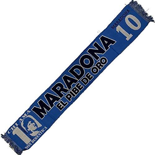 BrolloGroup Sciarpa Stadio Maradona 10 El Pibe De Oro Jaquard Tifosi Napoli Argentina Calcio PS 17371