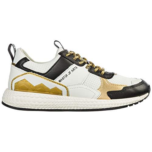 MOA Master of Arts Damen Futura Sneaker Bianco 40 EU