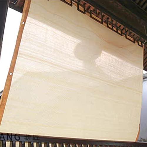 HWLL Malla Sombreo Gazebo Tela de Sombra Beige con Ojales, 95% de Bloqueo del Panel de Pantalla Cortavientos de Red, Toldo Protector Solar para Patio Jardín Balcón Pérgola (Size : 1mx3m/3ftx10ft)