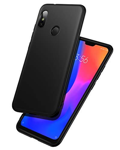 "LAYJOY Funda Xiaomi Mi A2 Lite, Carcasa Ligera Silicona Suave TPU Gel Bumper Case de Protectora Antideslizante, Anti-Golpes Cover Caso para Xiaomi Mi A2 Lite (2018) 5.84""-Negro"