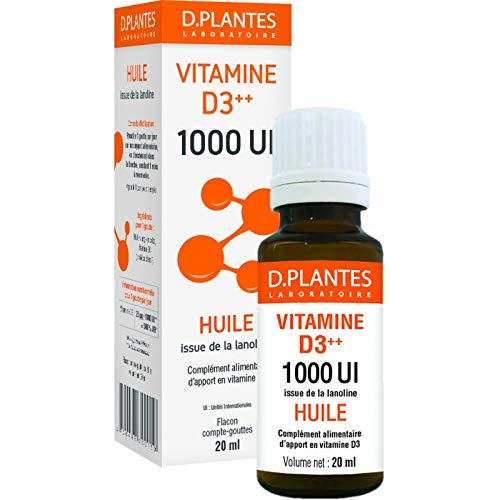 Vitamine D3 1000 UI - Flacon 20ml D-Plantes