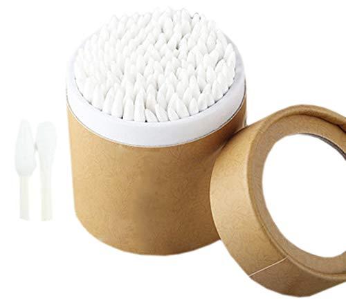 Cotons-tiges de sécurité 200 pièces Coton-tige à double pointe Bâtons de nettoyage polyvalents #16
