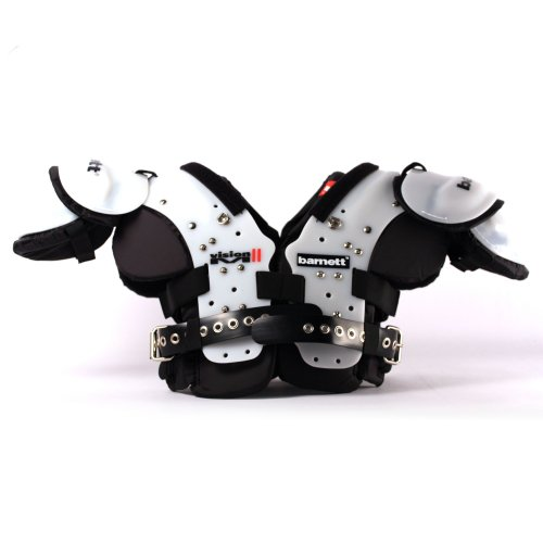 Barnett VISION II competition football shoulder pad, QB-WR-RB-DB (S)