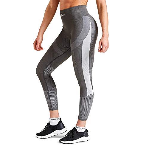 SMILODOX Damen Leggings Ultimate | Seamless - Figurformende Tight für Fitness Gym Yoga Training & Freizeit | Sporthose - Workout...