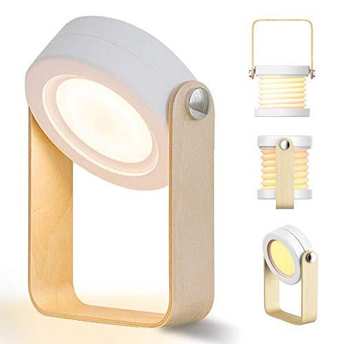 Veilleuses Lumière De Nuit De LED, Lampe De Table De LED, Lumière De Nuit De 3-Level LED Dimmable Lumière Multifonctionnelle Lampe Flexible 360-Degree La Lampe Portative De Lecture De Rotation.