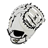 Mizuno GXF50FPW MVP Prime Fastpitch Softball First Base Mitts, 13', Right Hand Throw, Worn on Left Hand