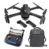 FPV WiFi RC Quadcopter、4K HDカメラ、2.4GHzのリモコン、2軸メカニカル防振ジンバル、1200m飛行距離、ブラシレスモーター、50xズーム huobeibei