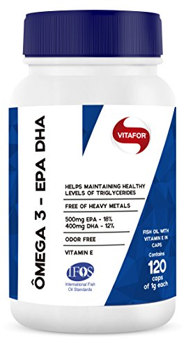 Ômega 3 EPA e DHA 1G (120caps) - Vitafor