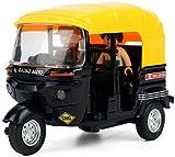 Coche En Miniatura De Alta Simulación 1:32, Coches De Triciclo, Taxi De...