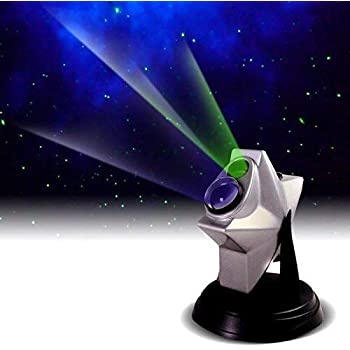 Laser Stars Twilight Projector, Romantic Relaxing Night Light Show, hologram Cosmos Planetarium Sky Constellation Galaxy Projection, Party Lights