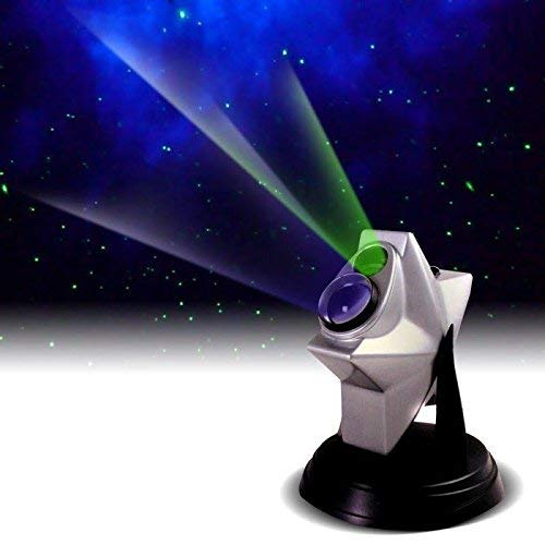 Upgraded 2021 model, Laser Stars Twilight Projector, More colors, Bluetooth speaker, Romantic Relaxing Night Light Show, hologram Cosmos Planetarium Sky Constellation Galaxy Projection