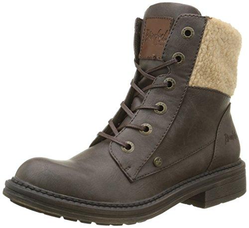 Blowfish Damen Fader Biker Boots, Braun (Brown), 36