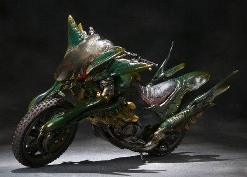 BANDAI S.I.C. - Kamen Rider Agito [Gills Raider & Dark Hopper] (Diecast Model)