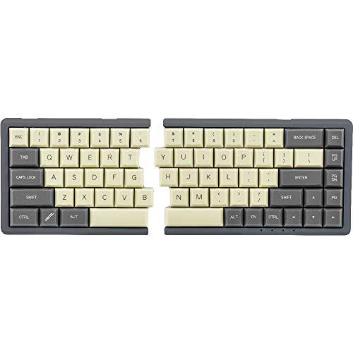 MiSTEL BAROCCO MD600 分離式 メカニカルキーボード 日本語配列 66キー CHERRY 黒軸 PBTキーキャップ ブラック MD600-AJPPSGAA1