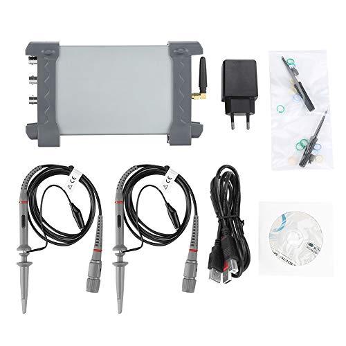 Akozon Hantek Osciloscopio Wifi USB 250MSa/s iPhone/Android/Windows 2CH 70MHz 2 Canales