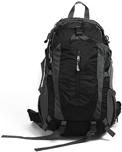 tgbnh Backpack,Hiking Backpack Packable Backpack Hiking Daypack Backpack Unisex Outdoor Travel Sports Backpack Black 40L (Color : Default)