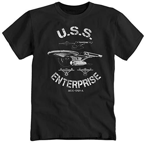 Nasa Alien USS Enterprise The Big Bang Theory Star Trek universo Maglietta shirt T-Shirt M