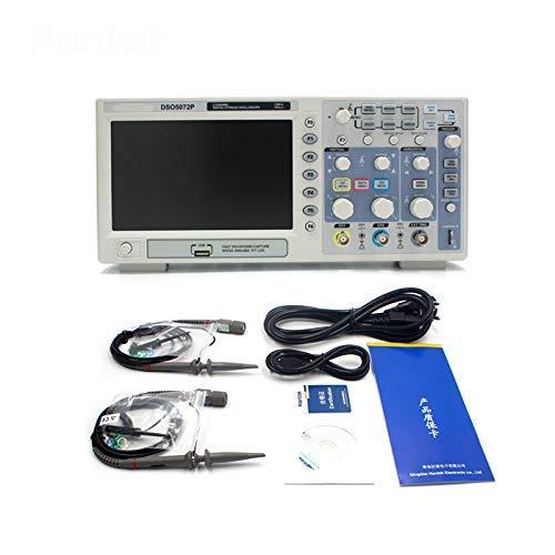 SISHUINIANHUA Hantek Official DSO5072P 2-Kanal-70-MHz-Handoszilloskop-Digitaloszilloskope USB 1GSa / s-Oszillograph