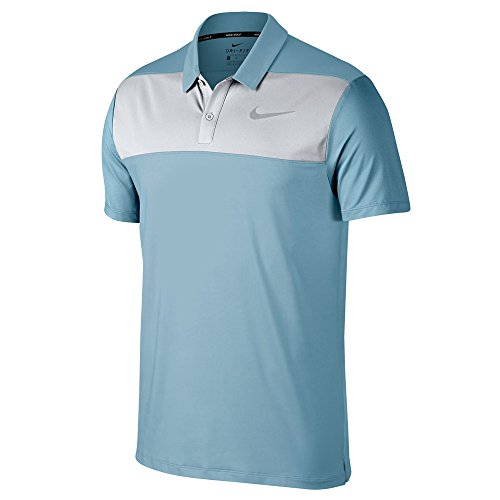 Nike M NK Dry Blk, Polo Homme, Pink Tropical 691, Small