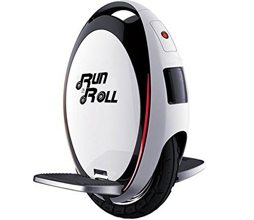 """Run & Roll Turbo Spin Advanced Monociclo, Hombre, Blanco, 12"""""""
