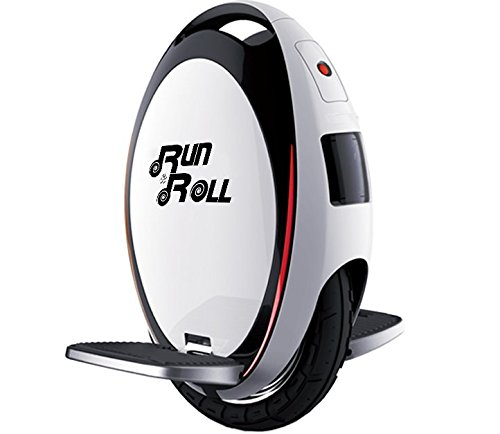 Run & Roll Turbo Spin Advanced Monociclo, Hombre, Blanco, 12""