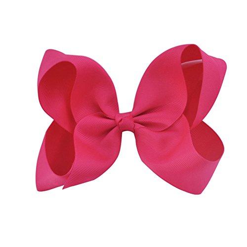 Gemini_mall® Grandes pinces à cheveux 15,2 cm - Nœuds pour enfant (fille) - Faites à la main