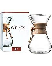 Chemex Kaffemaskin Klassisk 8-Cup genomskinlig