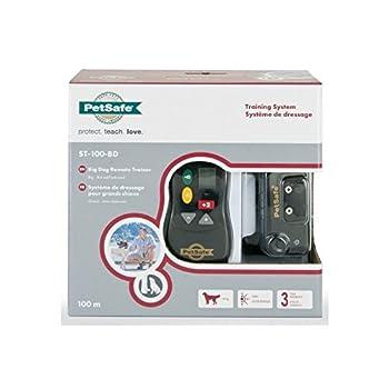 PetSafe Collier de Dressage Gros Chien avec Télécommande - Ecran Digital - 16 Niveaux de Stimulation - Mode Signal sonore seul - Portée 100 m