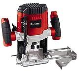 Einhell 4350470 TC-RO 1155 E - Fresadora, 1100 W, 230 V, 7 niveles de fresado, control electrónico