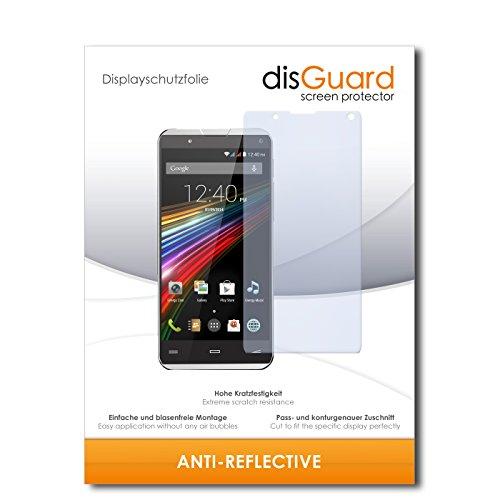 disGuard Bildschirmschutzfolie für Energy Sistem Phone Pro Qi [2 Stück] Anti-Reflex, MATT, Entspiegelnd, Extrem Kratzfest, Anti-Fingerabdruck - Bildschirmschutz, Schutzfolie, Panzerfolie