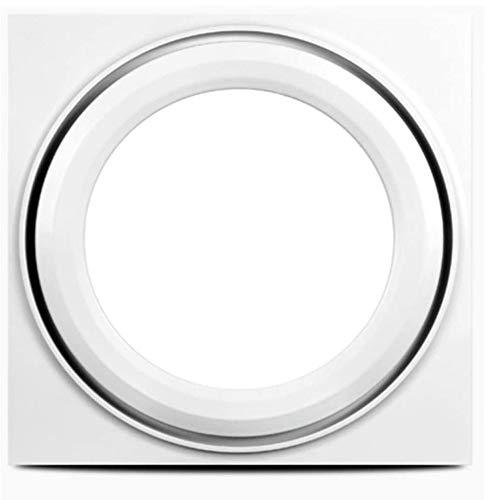 LANDUA Abluftventilator Geräuscharme LED-Beleuchtung Plus Ventilator Zwei-in-Eins-Badezimmer Küche Hochleistungs-Ventilator