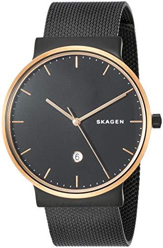 [スカーゲン] 腕時計 SKAGEN SKW6296 ブラック ロ-ズゴ-ルド [並行輸入品]
