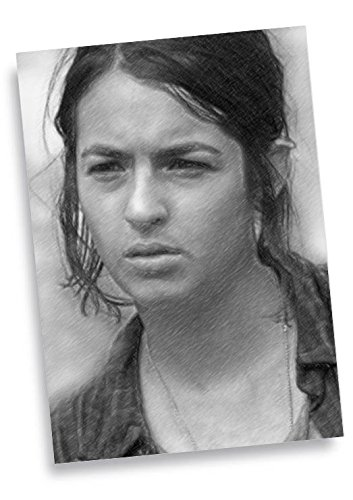 ALANNA MASTERSON - ACEO Sketch Card (Signed by the Artist) #js002