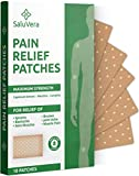 Pain Relief Patches – Large Patch Maximum Strength - Pain Relieving Patch - Back Patches for Pain - Muscle and Joint Heat Patches for Pain Relief Patch - 10 Hot Pain Patches