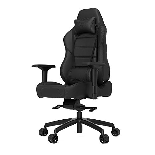 Vertagear VG-PL6000_CB P-Line 6000 Gaming Chair, X-Large, Black/Carbon