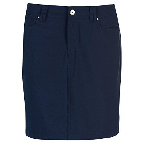 Slazenger Damen Golf Skort Mesh Shorts Marineblau XL